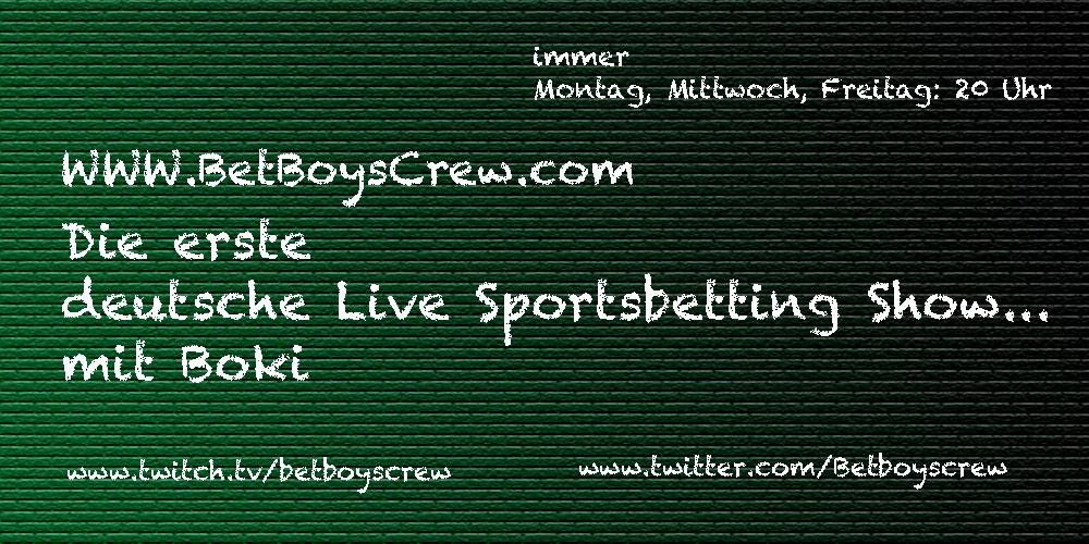 Bet Boys Crew - Sendedaten Boki